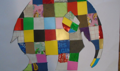 Elmer Montages will bring colour to our Gallery!