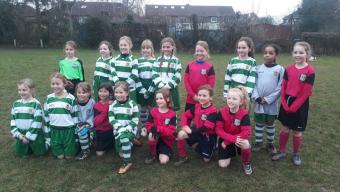 Year 3 Girls Football