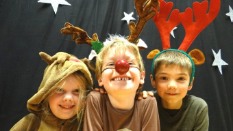 How Rudolph got his Red Nose!