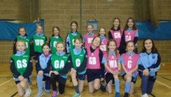 Netball team in first ever matches against Samuel Ryder
