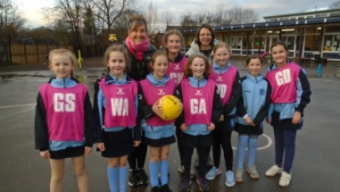 Netball team have a great week!